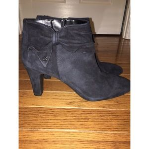 Alex Marie Heeled Booties with Side Bow